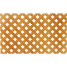 Декоративная деревянная сетка (неокрашенная)